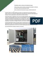 Panel Solar y Turbinas