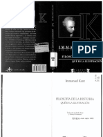 Kant, Filosofía de la historia. Qué es la ilustración.pdf