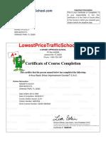 Certificate 1970797