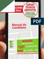 IFSP-manual Do Candidato