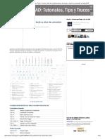AutoCAD_ Tutoriales, Tips y Trucos_ Lista de Combinaciones de Teclas y Alias de Comandos de AutoCAD