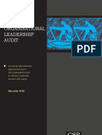 The Organisational Leadership Audit - Extract