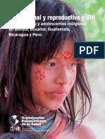 Salud Sexual y Reproductiva VIH en Adolescentes Indigenas