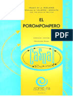 El Poronpompero - j. Solano - Arreglo Reinter
