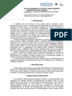 MD_02916 Alan DutraA CONSTITUIÇÃO DO PATRIMÔNIO CULTURAL COMO ELEMENTO DINAMIZADOR DAS CIDADES