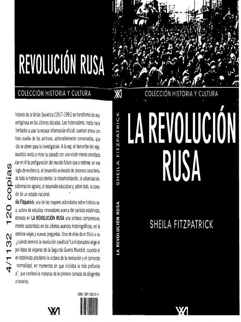 Agente Publico.katarina Rusa.porno sheila fitzpatrick - revolucion rusa   rusia   política