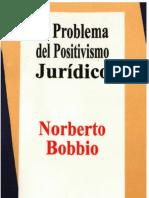 290497982 BOBBIO Norberto El Problema Del Positivismo Juridico