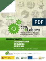 Agroindustria Ecológica en España (2012), SEAE