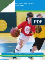 2010 Fall Program Guide