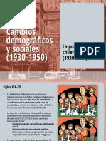 Cambios Demograficos en Chile