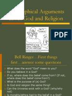 Philosophical Arguments About God