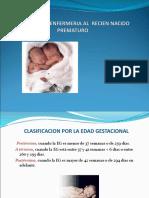 Enfermeria en Recien Nacido Prematuro Presentacion
