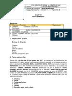 Formato Acta Entrega