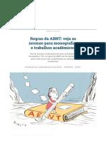 Regras da ABNT_ veja as normas para monografias e trabalhos acadêmicos _ Pesquisa e Tecnologia _ Gazeta do Povo