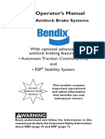 BENDIX ABS Operators Manuall