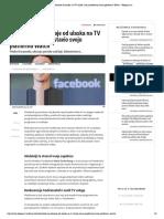 Facebook ne odustaje od ulaska na TV tržište, sad je predstavio svoju platformu Watch – Telegram
