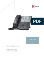 SPA 504G IP Phone for 8x8 Virtual Office User Guide