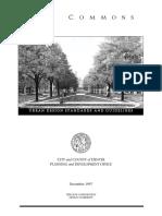Denver CommonsDesignStandards