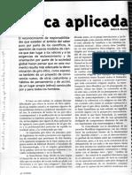 A.boniLLA-La Ética Aplicada