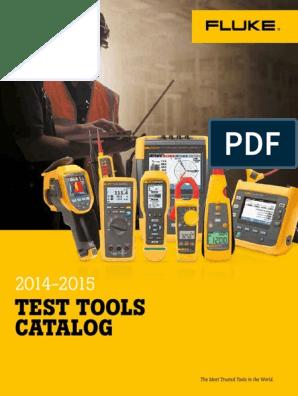 FLUKE Catalog 2014 - 2015 | Equipment | Electromagnetism