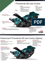 Powerscreen Premiertrak 300 Features & Benefits