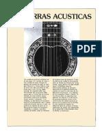 construcción basica de guitarrras