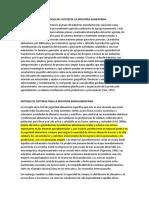 Principales Características Del Sector de La Industria Alimentaria
