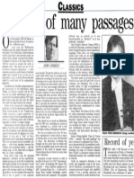 Ian Shanahan - Sun-Herald 5.12.1993 {Lines of Light & Recorder Playing} OCR