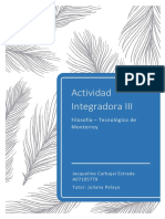 ACT INT III - Filosofía