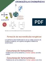 Macromoléculas Inorgánicas