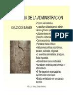 Historia de La Administracion