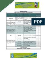 Cronograma Del Curso de Excel y Access(1)