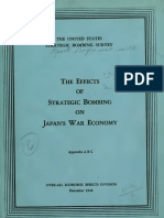 USSBS Reports No. 53, Effects of Strategic Bombing on Japan's War Economy