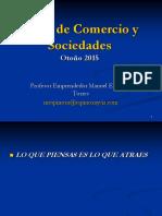 Actos de Comercio y Sociedades 2015