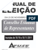 Manual Eleicao Cr 2011
