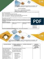 Guía de actividades y rúbrica de evaluación – Unit 2