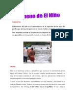 Fenomeno Del Niño Naturales