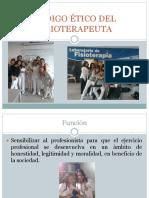 CÓDIGO ÉTICO DEL FISIOTERAPEUTA