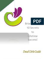 Brian Tracys 10 Steps to Lifetime Success1