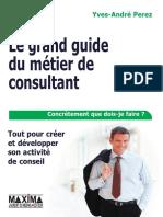 Extrait Le Grand Guide Du Metier de Consultant