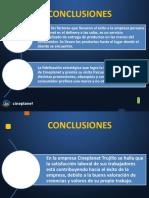 Conclusiones Recomen y Entrevista