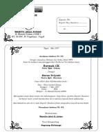 template undangan tasyakuran
