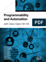 Programmability Open NX-OS