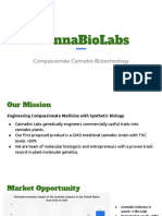 cannabiolabs pitch deck