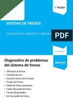 Sistema de Frenos Diagnostico