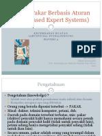 Sistem Pakar Berbasis Aturan