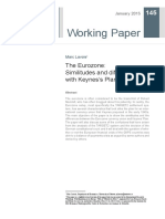 Marc Lavoie (2015) the Eurozone Similitudes and Differences With Keynes's Plan - Copia