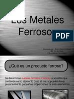 Los Metales Ferrosos 23 Diap