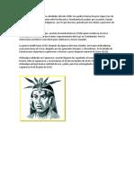 Atahualpa Nació en El Cusco Alrededor Del Año 1500