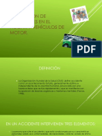 PREVENCIÓN DE  ACCIDENTES EN EL  HOGAR Y VEHÍCULOS DE MOTOR.
